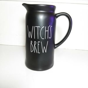 Rae Dunn Witch's Brew Pitcher NEW